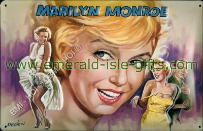 Marilyn Monroe - Vintage style Metal sign