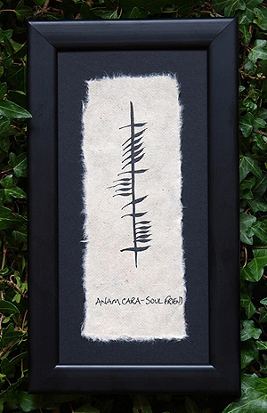 Soul Mate - Anam Chara - Ogham Plaque (Ireland
