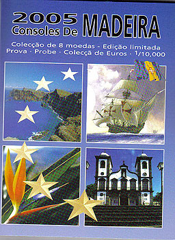 Madeira Euro Pattern Set (Year of Issue - 2005)