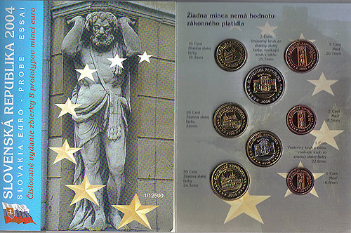 Slovakia Euro Pattern Set