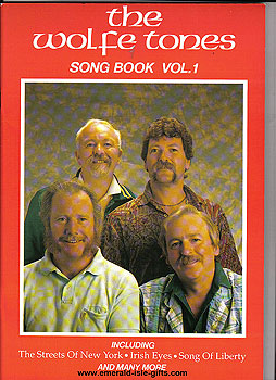 The Wolfe Tones Song Book Vol 1