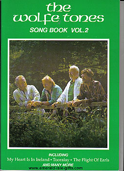 The Wolfe Tones Song Book Vol 2