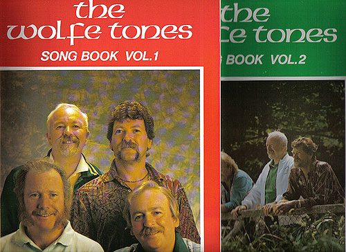The Wolfe Tones Song Book Vo l 1 & Vol 2