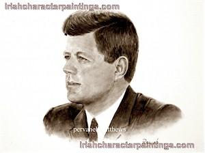 US President John F. Kennedy (JFK)