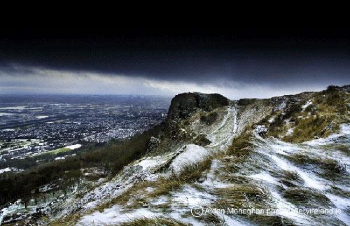 Snowstorm at Cavehill (Snowstorm at Cavehill)