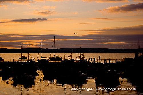 Sunset at Ballycotton, Co Cork (Sunset at Ballycotton)