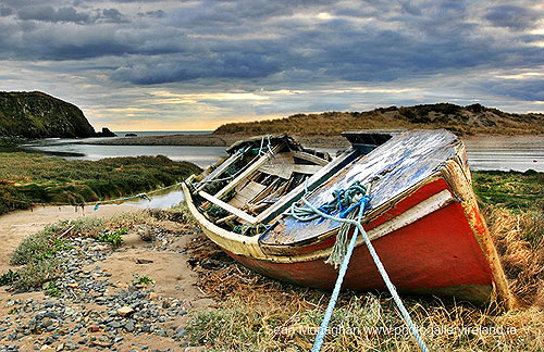 The Red Boat Wreck, Co, Waterford,