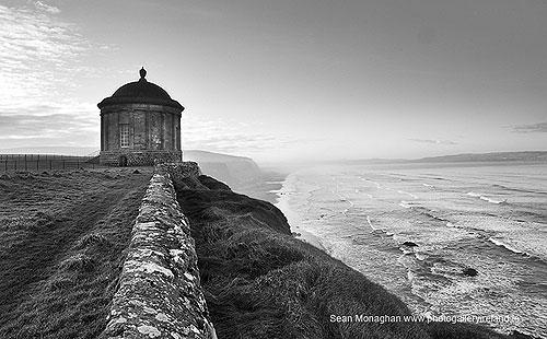 Ross Castle Killarney (signed) (Iconic B/W photo)