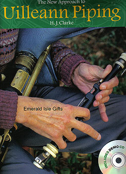 New Approach to Uilleann Piping (Instruction Book & CD)
