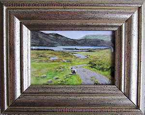 Heading Home - Lovely Irish Miniature Original