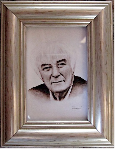 Seamus Heaney - Original Miniature
