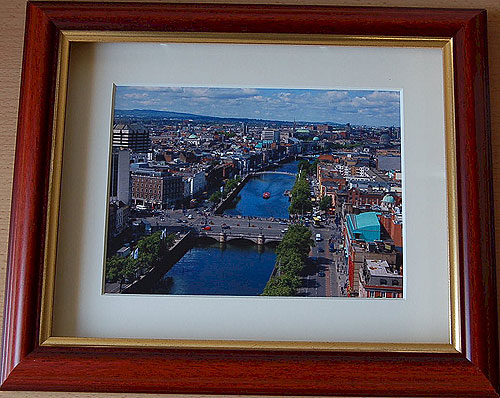 The River Liffey, Dublin City Ireland