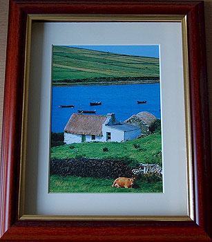 Traditional Thatched Cottage, Connemara, Galway, Ireland