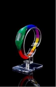 Rainbow Gay / Lesbian themed sports watch