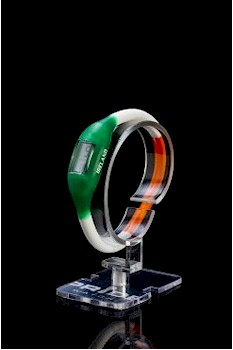Ireland Silicone Tricolour sports watch