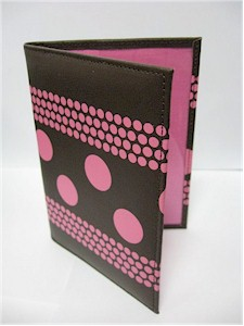 Pink Champagne Bliss Passport Wallet
