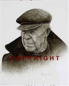 Aran Islander - Irish Character Portrait