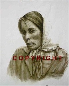 Brid - Irish Character Portrait