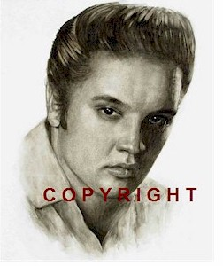 Elvis Presley Portrait Signed Ltd Edition