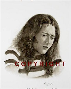 Rory Gallagher Portrait Signed Ltd Edition