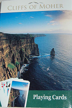 Cliffs of Moher Deck of Cards