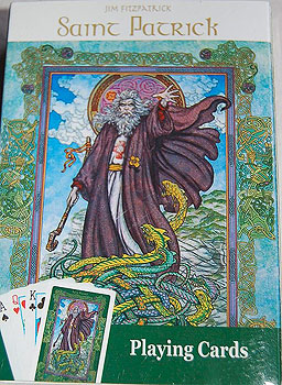 Irish Playing Cards St Patrick Jim Fitzpatrick Deck Of Cards