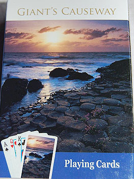 Giants Causeway Deck of Cards