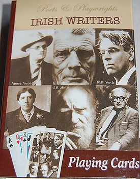 Irish Writers Playing Cards