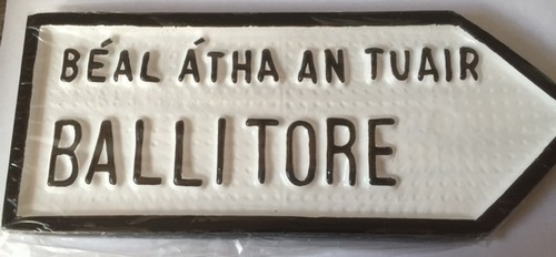 Ballitore Old Style Road Sign