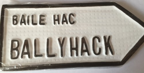 Ballyhack Old Style Road Sign