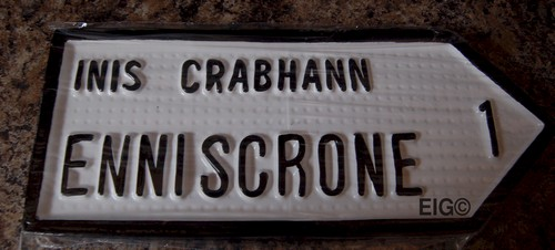 Enniscrone Old Style Road Sign