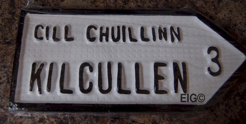 Kilcullen Old Style Road Sign