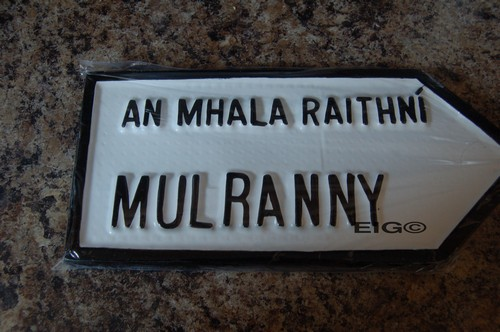 Mulranny Old Style Road Sign