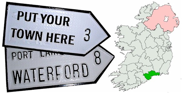 Do we have your WATERFORD Town ROAD SIGN?