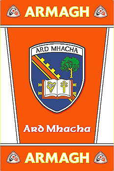Ulster County Gaa Rugs Armagh Gaa County Crest Irish