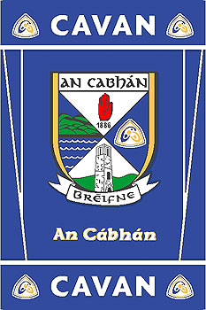 Ulster County Gaa Rugs Cavan Gaa County Crest Irish