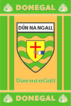 Ulster County Gaa Rugs Donegal Gaa County Crest Irish