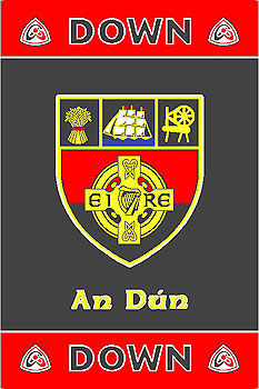 Ulster County Gaa Rugs Down Gaa County Crest Irish