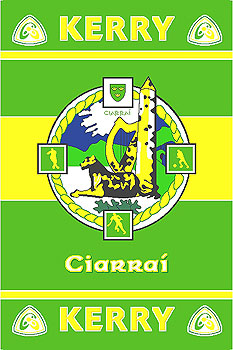 Kerry GAA County Crest - Irish County Rug