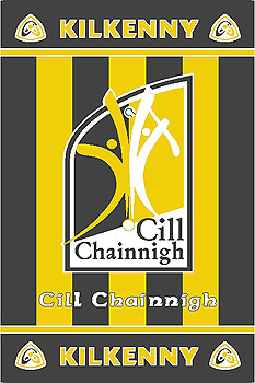 Kilkenny GAA County Crest - Irish County Rug
