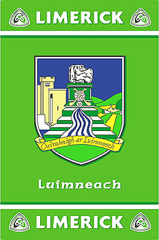Limerick GAA County Crest - Irish County Rug