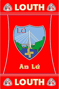 Leinster County Gaa Rugs Louth Gaa County Crest Irish