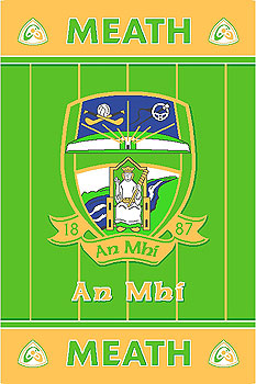 Meath GAA County Crest - Irish County Rug