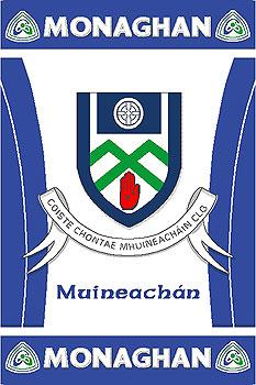 Ulster County Gaa Rugs Monaghan Gaa County Crest Irish