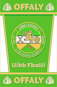 Leinster County Gaa Rugs Offaly Gaa County Crest Irish