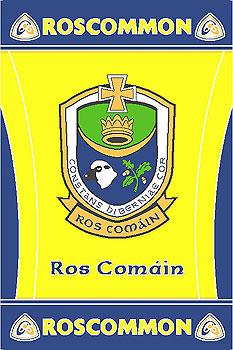 Roscommon GAA County Crest - Irish County Rug