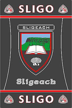 Sligo GAA County Crest - Irish County Rug