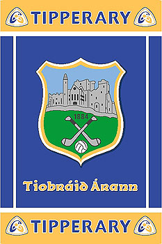 Tipperary GAA County Crest - Irish County Rug