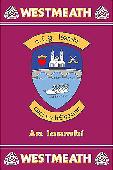 Westmeath GAA County Crest - Irish County Rug