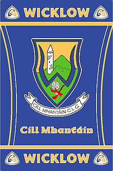 Wicklow GAA County Crest - Irish County Rug